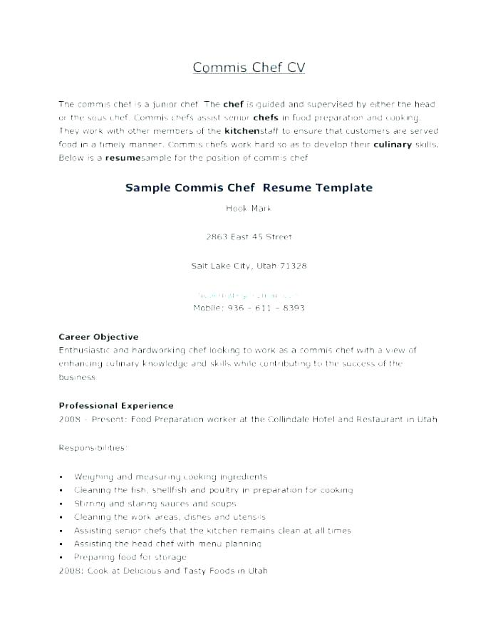 Culinary Cover Letter Examples Chef Cover Letters Sous Chef Cover Letter  Sous Chef Cover Letter Sample
