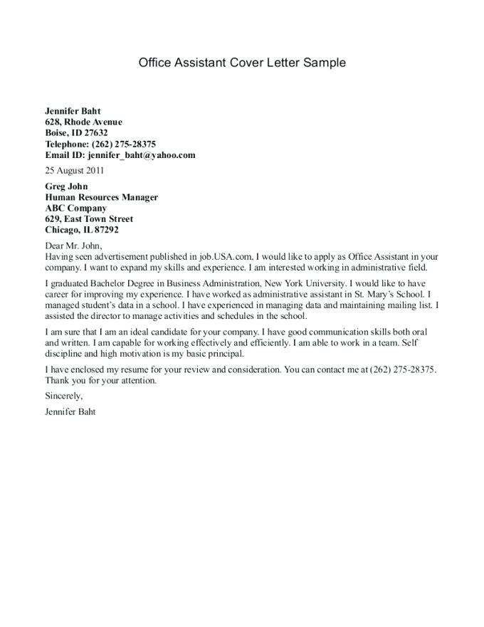 Medical Assistant Cover Letter Sample 8 Cover Letter For Medical Assistant  Pertaining To Cover Letter Sample . Medical Assistant Cover Letter ...