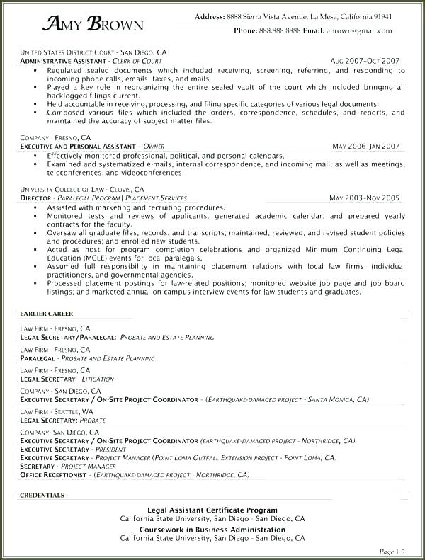 paralegal resume objective examples promisedesign